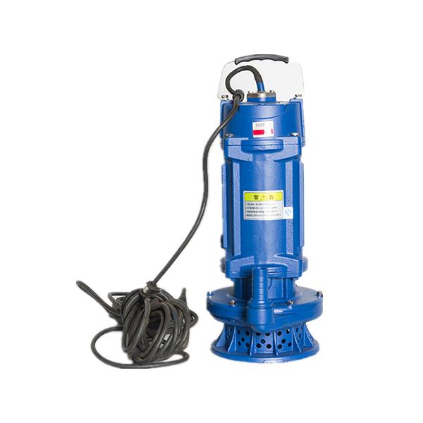 新型铁壳潜水电泵 22